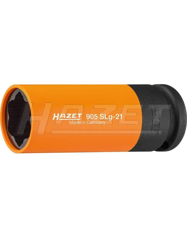 Smūginė galvutė 1/2 ilga spec. varžtams 21mm 905SLG-21 Hazet